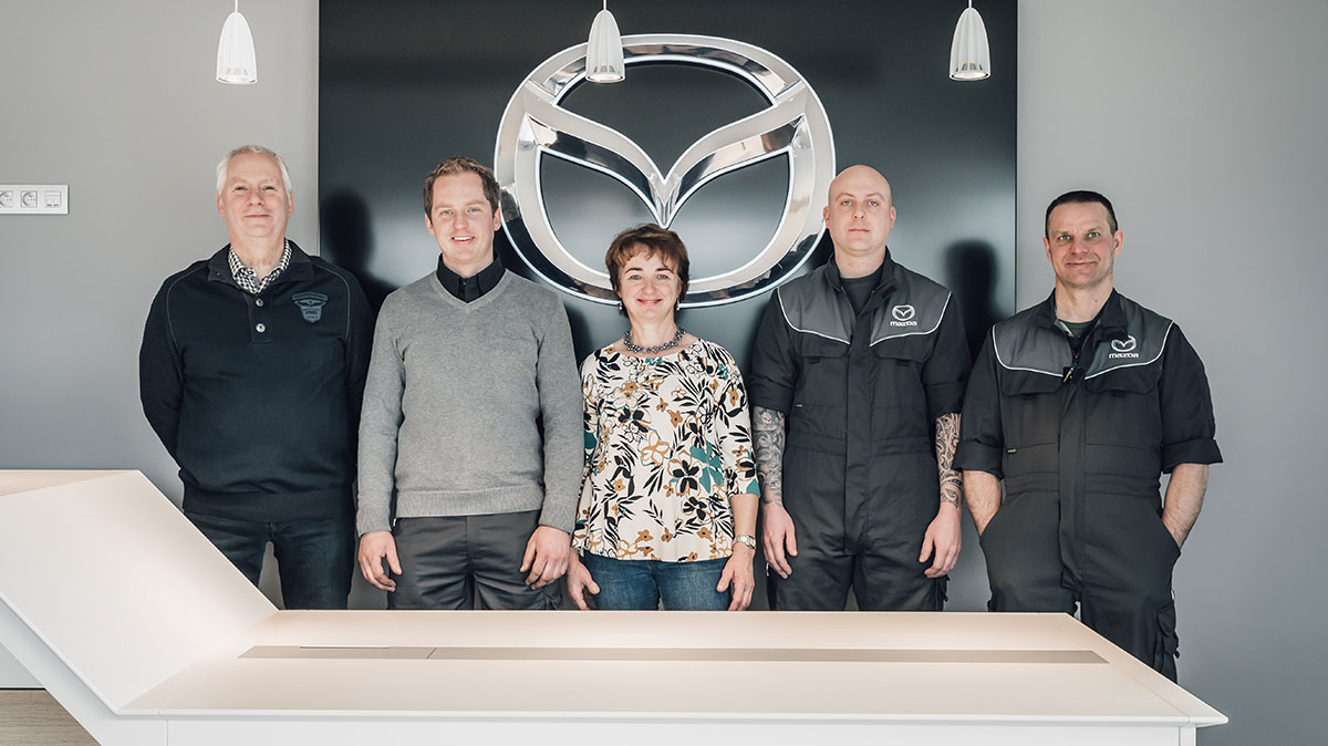 Mazda Van Haelst Team